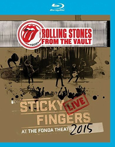 【メール便送料無料】ROLLING STONES / FTV: STICKY FINGERS LIVE AT FONDA THEATRE (輸入盤ブルーレイ)【BM2017/9/29発売】