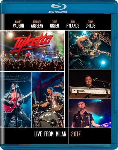 【メール便送料無料】TYKETTO / LIVE IN MILAN 2017 (輸入盤ブルーレイ)【BM2017/10/13発売】