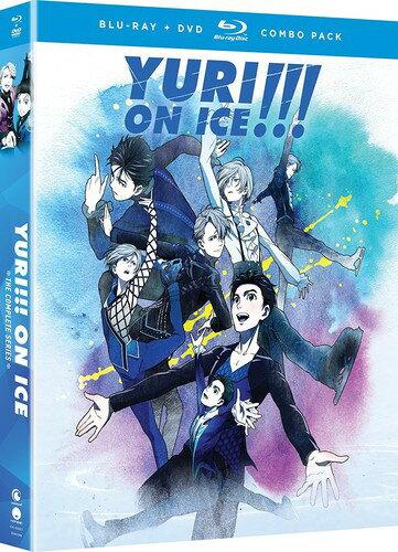 【送料無料】YURI ON ICE: COMPLETE SERIES (2PC) (W/DVD)【B2018/2/6発売】 (アニメ輸入盤ブルーレイ)