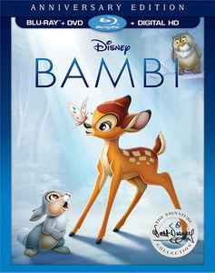 【メール便送料無料】BAMBI: THE WALT DISNEY SIGNATURE COLLECTION (2PC) (アニメ輸入盤ブルーレイ)【B2017/6/6発売】