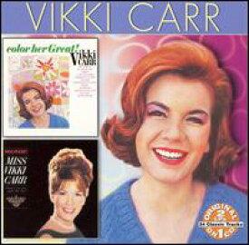 【輸入盤CD】Vikki Carr / Color Her Great/Discovery (ヴィッキー・カー)