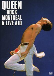 【メール便送料無料】QUEEN / QUEEN ROCK MONTREAL & LIVE AID (輸入盤DVD) (クイーン)
