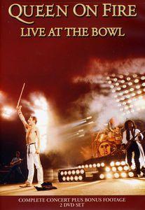 【メール便送料無料】【1】QUEEN / ON FIRE LIVE AT THE BOWL (2PC) (輸入盤DVD) (クイーン)