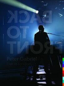 【輸入盤DVD】【送料無料】【1】PETER GABRIEL / BACK TO FRONT: LIVE IN LONDON (W/CD) (LIMITED EDITION)(ピーター・ガブリエル)