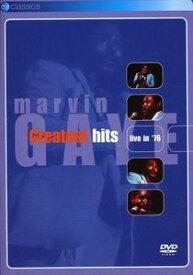 【メール便送料無料】【1】MARVIN GAYE / GREATEST HITS LIVE 76 (輸入盤DVD)【★】 (マーヴィン・ゲイ)