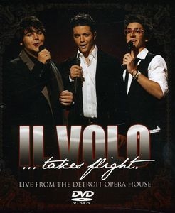 【メール便送料無料】【1】IL VOLO / IL VOLO: TAKES FLIGHT - LIVE FROM DETROIT OPERA (輸入盤DVD) (イル・ヴォーロ)