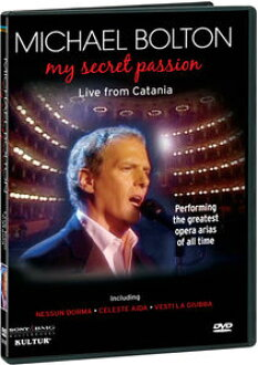 MICHAEL BOLTON / MY SECRET PASSION (import board DVD) (Michael Bolton)