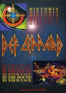 【メール便送料無料】【1】DEF LEPPARD / HISTORIA / IN THE ROUND IN YOUR FACE (輸入盤DVD) (デフ・レパード)