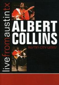 【輸入盤DVD】【ネコポス送料無料】【0】ALBERT COLLINS / LIVE FROM AUSTIN TEXAS(アルバート・コリンズ)