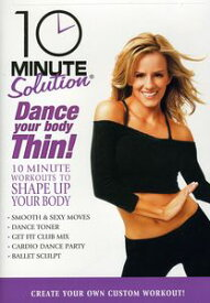 【1】10 Minute Solution: Dance Your Body Thin (Andrea Rogers) (輸入盤DVD) 【★】