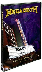 【メール便送料無料】MEGADETH / RUST IN PEACE LIVE (輸入盤DVD) (メガデス)