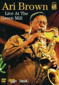 【輸入盤DVD】ARI BROWN / LIVE AT THE GREEN MILL