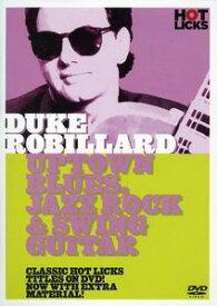 【輸入盤DVD】【ネコポス送料無料】【0】DUKE ROBILLARD / BLUE JAZZ & SWING