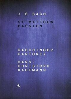 J.S. BACH/RADEMANN / ST MATTHEW PASSION (2 PC) (수입반DVD)