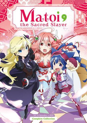 【送料無料】MATOI THE SACRED SLAYER (3PC) (アニメ輸入盤DVD)【D2017/9/19発売】