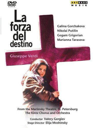 【メール便送料無料】【1】VERDI/KARASEV/GORCHAKOVA/PUTILIN/GRIGORIAN / FORZA DEL DESTINO (輸入盤DVD)