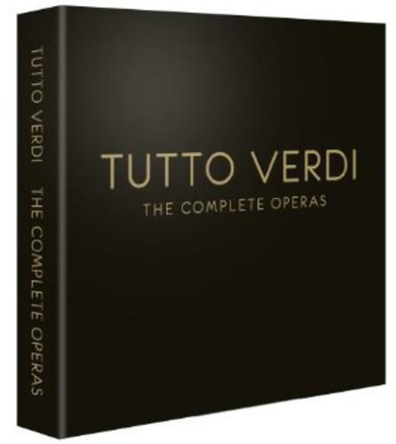 【送料無料】TUTTO VERDI: COMPLETE OPERAS / TUTTO VERDI: COMPLETE OPERAS (30PC) (輸入盤DVD)