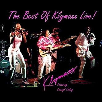KLYMAXX / BEST OF KLYMAXX LIVE (수입반DVD) (클라이막스)