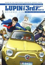 【送料無料】LUPIN THE 3RD PART IV THE ITALIAN ADVENTURE (4PC) (アニメ輸入盤DVD)【D2018/6/26発売】