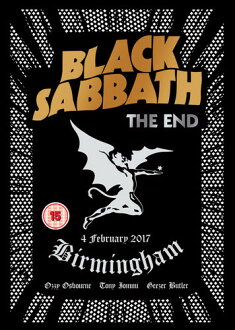 BLACK SABBATH / END: BIRMINGHAM - 4 FEBRUARY 2017 (수입반DVD) (블랙・안식일)