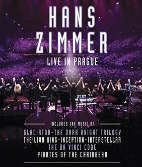HANS ZIMMER / LIVE IN PRAGUE (수입반DVD) (한스・지마)