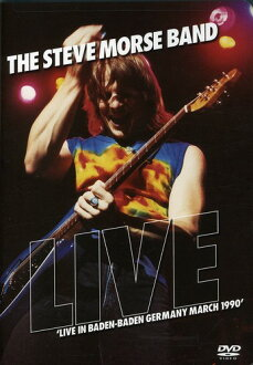 STEVE MORSE / LIVE IN BADEN: BADEN GERMANY MARCH 1990 (수입반DVD)