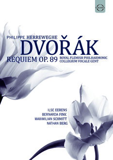 DVORAK/PHILIPP HERREWEGHE/COLLEGIUM VOCALE GEN / PHILIPPE HERREWEGHE - ANTONIN DVORAK: REQUIEM OP 89 (수입반DVD)