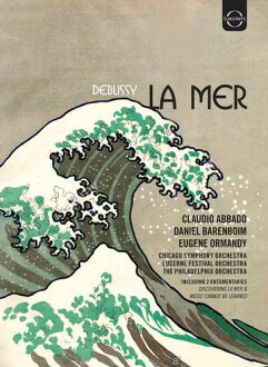 CLAUDIO ABBADO/DANIEL BARENBOIM / CLAUDE DEBUSSY - LA MER (수입반DVD) (클라우디오・아바도)
