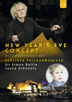 SIMON RATTLE/JOYCE DIDONATO/BERLINER PHIL / NEW YEAR'S EVE CONCERT 2017 (수입반DVD) (사이먼・라톨)