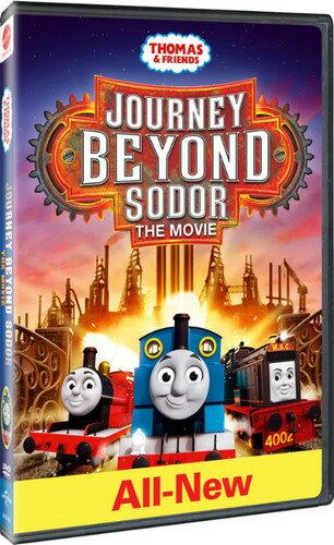 【メール便送料無料】【1】THOMAS & FRIENDS: JOURNEY BEYOND SODOR - THE MOVIE (アニメ輸入盤DVD)【D2017/8/22発売】