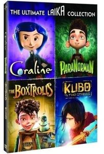 【送料無料】ULTIMATE LAIKA COLLECTION (4PC)(アニメ輸入盤DVD)(2016/11/22)