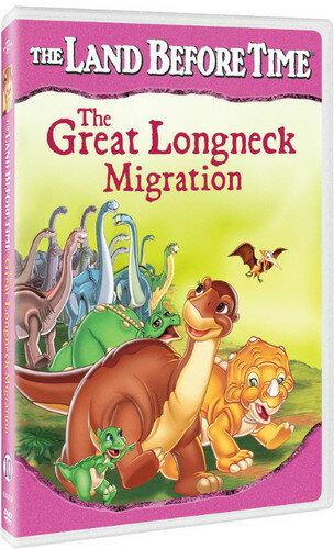 【メール便送料無料】LAND BEFORE TIME: GREAT LONGNECK MIGRATION (アニメ輸入盤DVD)【D2017/9/12発売】