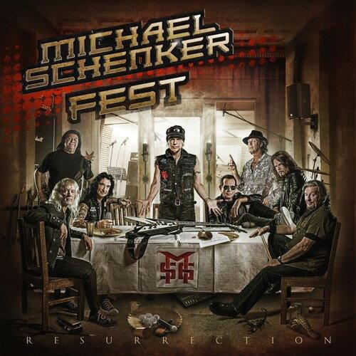 【メール便送料無料】MICHAEL SCHENKER FEST / RESURRECTION (輸入盤DVD)【DM2018/3/2発売】 (マイケル・シェンカー・フェスト)