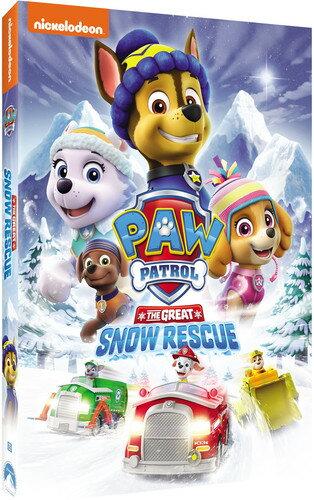 【メール便送料無料】PAW PATROL: THE GREAT SNOW RESCUE (アニメ輸入盤DVD)【D2017/10/24発売】