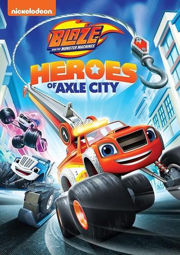 【メール便送料無料】BLAZE & THE MONSTER MACHINES: HEROES OF AXLE CITY (アニメ輸入盤DVD)【D2018/2/13発売】