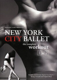 【1】NEW YORK CITY BALLET COMPLETE WORKOUT 1 & 2 (輸入盤DVD)【★】