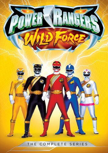【メール便送料無料】【1】POWER RANGERS: WILD FORCE - THE COMPLETE SERIES (アニメ輸入盤DVD)