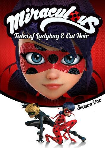 【メール便送料無料】【1】MIRACULOUS: TALES OF LADYBUG & CAT NOIR - SSN ONE (アニメ輸入盤DVD)【D2018/2/6発売】
