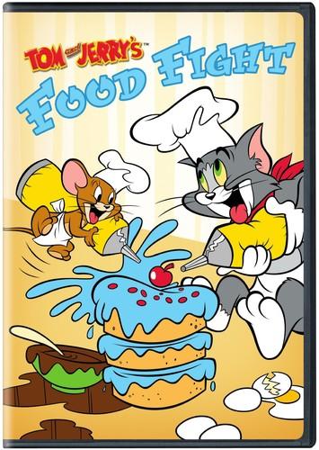 【メール便送料無料】【5】TOM & JERRY: FOOD FIGHT (アニメ輸入盤DVD)【D2017/8/29発売】