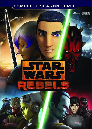 【1】STAR WARS REBELS: THE COMPLETE SEASON 3 (4PC) (アニメ輸入盤DVD)【D2017/8/29発売】