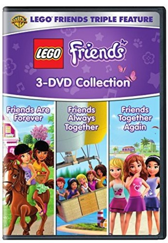 LEGO FRIENDS TRIPLE FEATURE (3PC)(アニメ輸入盤DVD)【D2017/2/14発売】