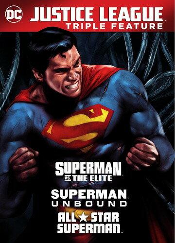 【メール便送料無料】DCU: SUPERMAN UNBOUND/SUPERMAN VS THE ELITE (アニメ輸入盤DVD)【D2017/10/3発売】