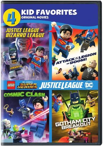 【メール便送料無料】4 KID FAVORITES: LEGO DC SUPER HEROES (2PC) (アニメ輸入盤DVD)【D2017/10/10発売】