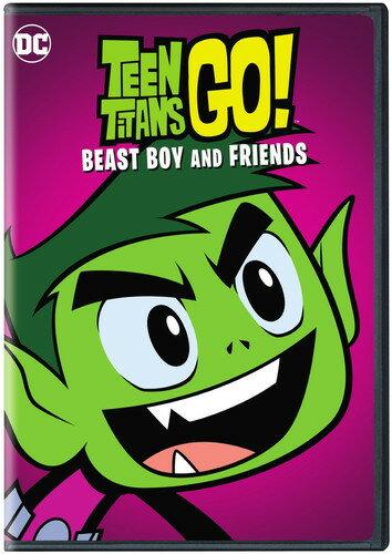 【メール便送料無料】TEEN TITANS GO: BEAST BOY & FRIENDS (アニメ輸入盤DVD)【D2018/2/6発売】