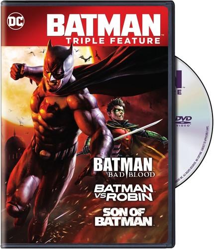 BATMAN BAD BLOOD TRIPLE FEATURE (3PC) (アニメ輸入盤DVD)【D2018/2/13発売】