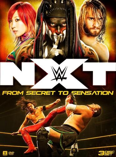 WWE: NXT - FROM SECRET TO SENSATION (3PC) (輸入盤DVD)【D2017/11/14発売】