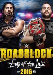 【1】WWE: ROADBLOCK 2016 (3PC) (輸入盤DVD)(2017/1/31)