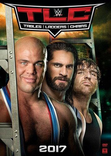 【メール便送料無料】WWE: TLC - TABLES LADDERS & CHAIRS 2017 (輸入盤DVD)【D2017/11/28発売】