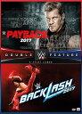 【メール便送料無料】WWE: PAYBACK 2017/BACKLASH 2017 (輸入盤DVD)【D2017/6/27発売】