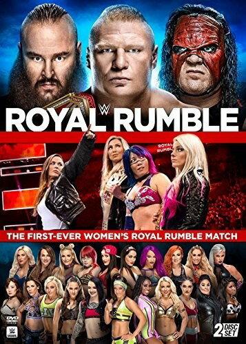 【メール便送料無料】WWE: ROYAL RUMBLE 2018 (2PC) (輸入盤DVD)【D2018/3/6発売】